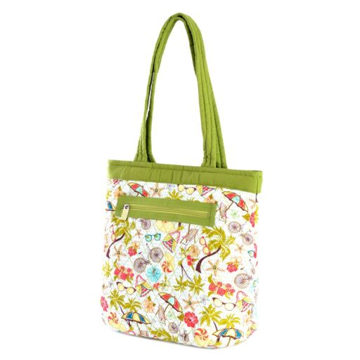 Olympia Quilted Reversible Tote Bag