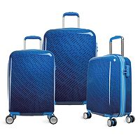Olympia T-Line Gam 3 pc Hardside Spinner Luggage Set