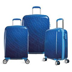 Olympia T-Line Gam 3-Piece Hardside Spinner Luggage Set