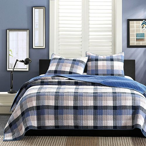 INK+IVY Maddox 3-pc. Quilted Coverlet Set