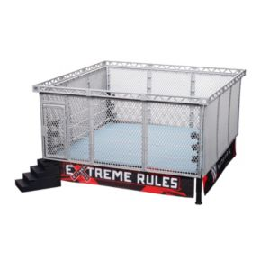 Wicked Cool Toys WWE Authentic Scale Steel Cage Match