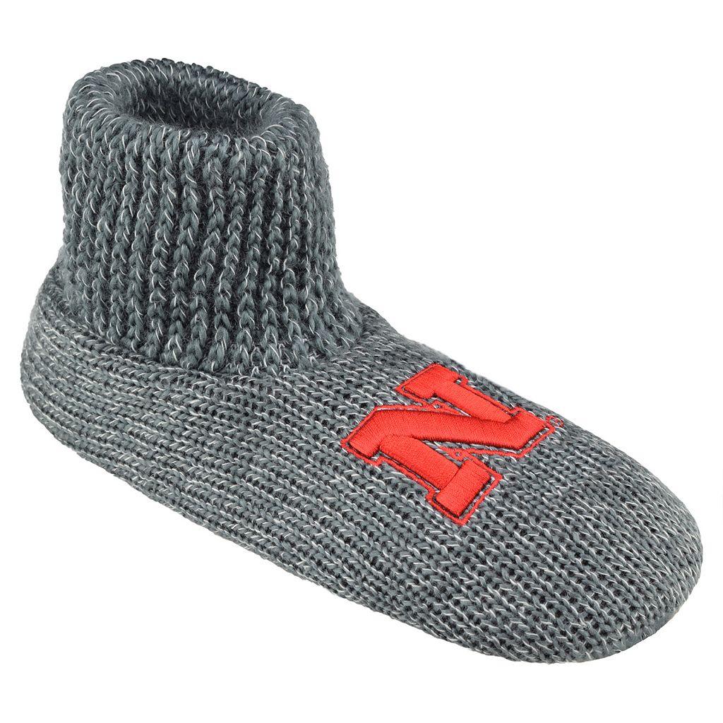 Men's Nebraska Cornhuskers Slipper Socks