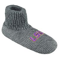 Men's LSU Tigers Slipper Socks