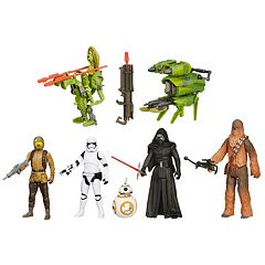 Star Wars: Episode VII The Force Awakens 3.75 in Forest Mission Figures