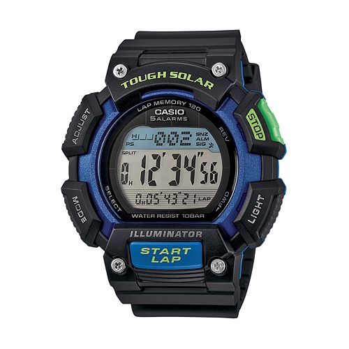 casio tough solar watch instructions
