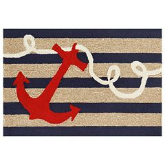 Liora Manne Frontporch Anchor Indoor Outdoor Rug