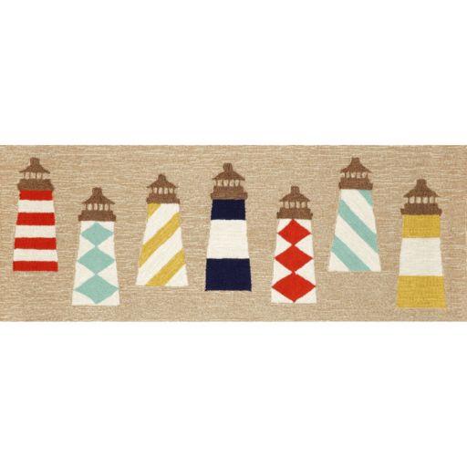 Liora Manne Frontporch Lighthouses Indoor Outdoor Rug