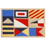Trans Ocean Imports Liora Manne Frontporch Signal Flags Indoor Outdoor Rug