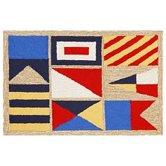 Liora Manne Frontporch Signal Flags Indoor Outdoor Rug