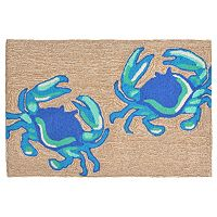 Liora Manne Frontporch Crabs Indoor Outdoor Rug