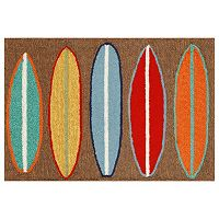 Trans Ocean Imports Liora Manne Frontporch Surfboards Indoor Outdoor Rug