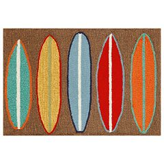 Liora Manne Frontporch Surfboards Indoor Outdoor Rug