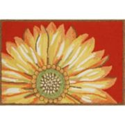 Liora Manne Frontporch Sunflower Indoor Outdoor Rug