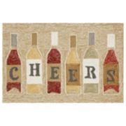 Liora Manne Frontporch Cheers Indoor Outdoor Rug