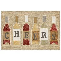 Trans Ocean Imports Liora Manne Frontporch Cheers Indoor Outdoor Rug