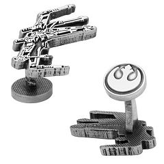 Star Wars X-Wing Etched Cuff Links