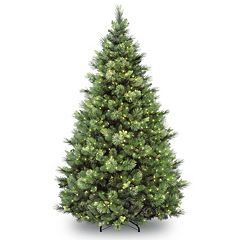 7.5-ft. Pre-Lit Carolina Pine Artifical Christmas Tree