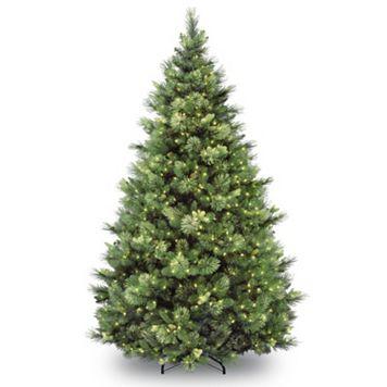 7.5-ft. Pre-Lit Carolina Pine Artifical Christmas Tree