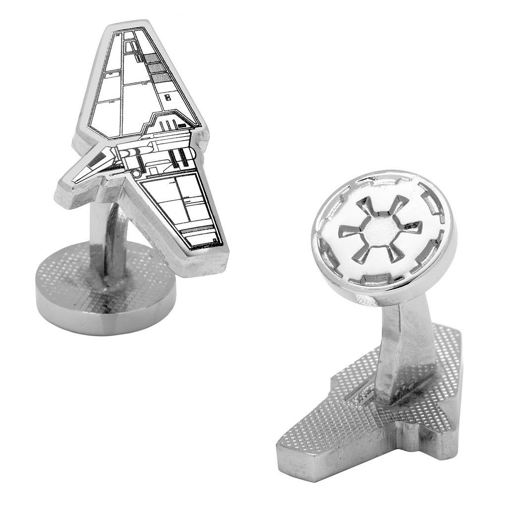 Star Wars Imperial Shuttle Blueprint Cuff Links