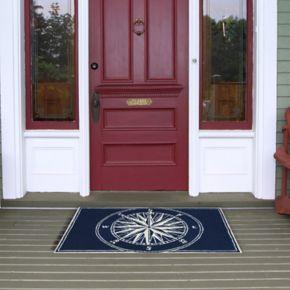 Liora Manne Frontporch Compass Indoor Outdoor Rug