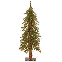 3-ft. Pre-Lit Hickory Cedar Artifical Christmas Tree