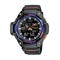 Casio Men's Twin Sensor Analog & Digital Watch