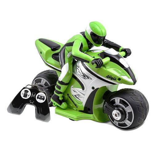 Kid Galaxy Kawasaki Ninja Remote Control Motorcycle