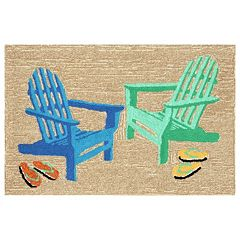 Liora Manne Frontporch Adirondack Indoor Outdoor Rug