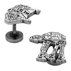 Star Wars Snowspeeder & AT-AT Walker Cuff Links