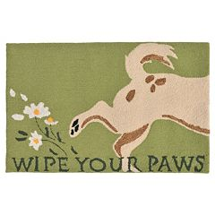Liora Manne Frontporch Wipe Your Paws Indoor Outdoor Rug