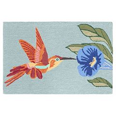 Liora Manne Frontporch Hummingbird Indoor Outdoor Rug