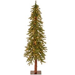 5-ft. Pre-Lit Hickory Cedar Artifical Christmas Tree