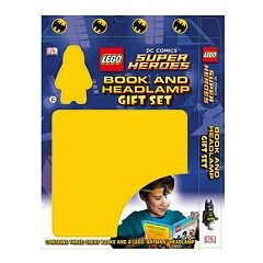 LEGO DC Comics Super Heroes Book & Headlamp Set by Levy