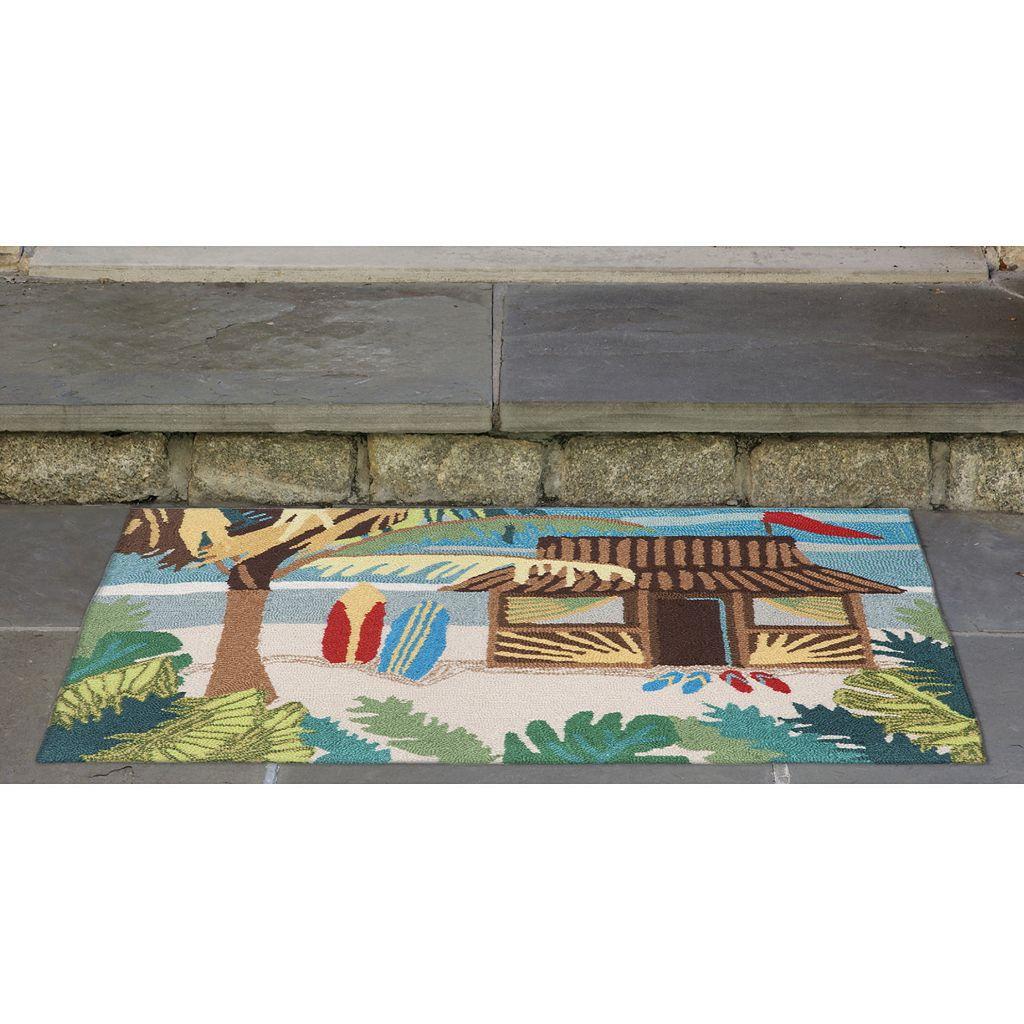 Trans Ocean Imports Liora Manne Frontporch Tiki Hut Indoor Outdoor Rug