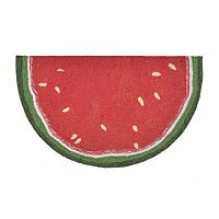 Trans Ocean Imports Liora Manne Frontporch Watermelon Slice Indoor Outdoor Rug