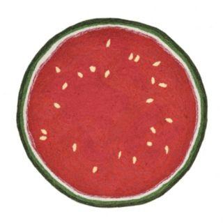 Liora Manne Frontporch Watermelon Slice Indoor Outdoor Rug