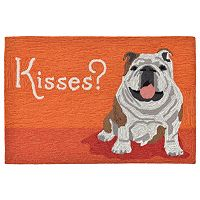 Trans Ocean Imports Liora Manne Frontporch Wet Kiss Indoor Outdoor Rug