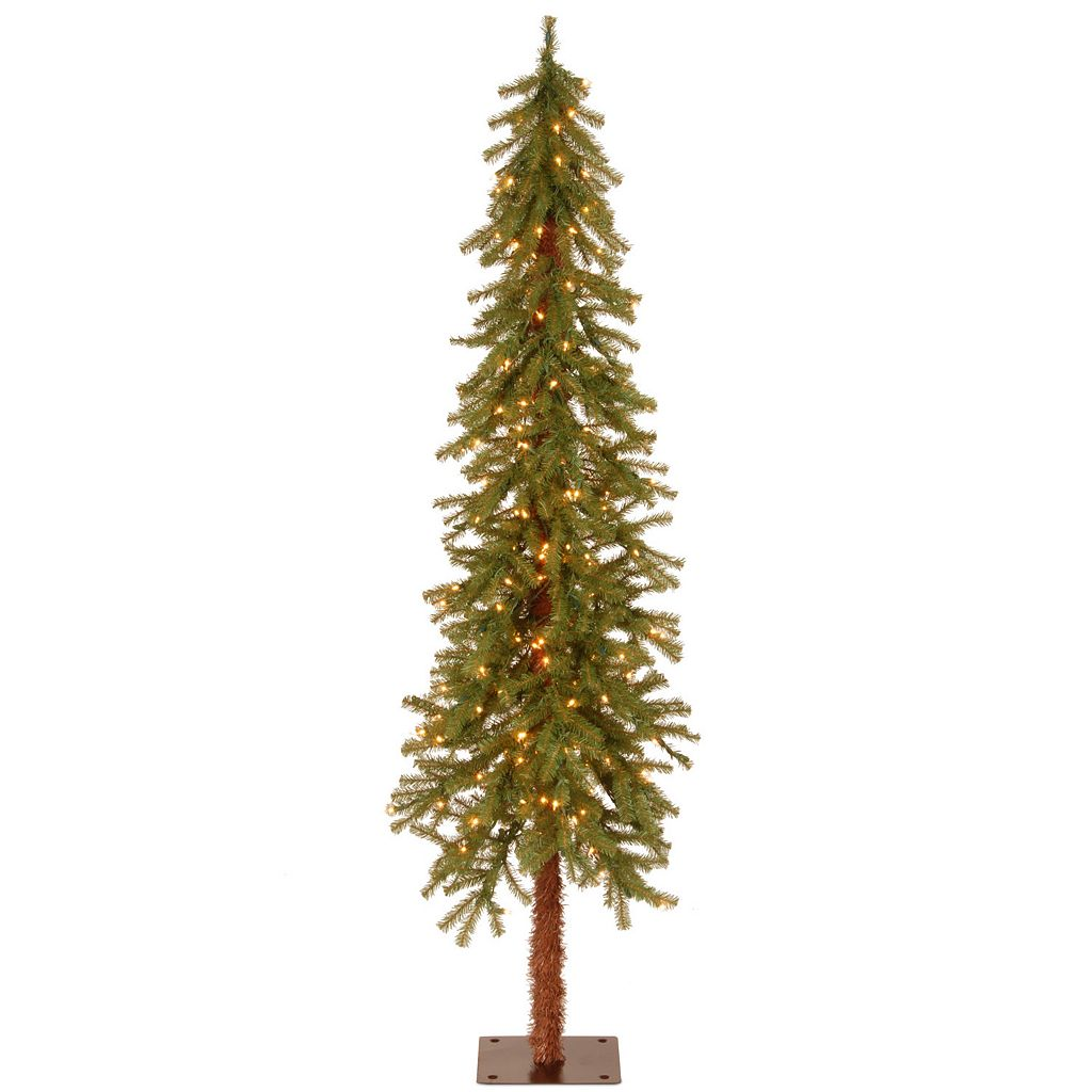 6-ft. Pre-Lit Hickory Cedar Artifical Christmas Tree