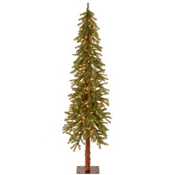 6-ft. Pre-Lit Hickory Cedar Artifical Christmas Tree