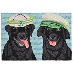 Liora Manne Frontporch Salty Dogs Indoor Outdoor Rug