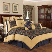 Waverly Rhapsody 4- Piece Reversible Comforter Set