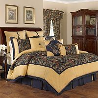 Waverly Rhapsody 4- Piece Reversible Comforter Set