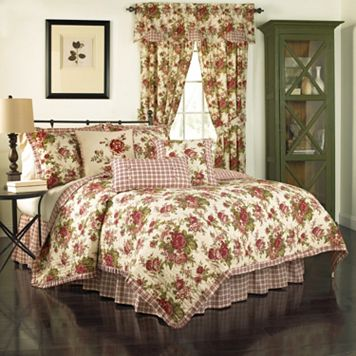 Waverly Norfolk Reversible Quilt Set