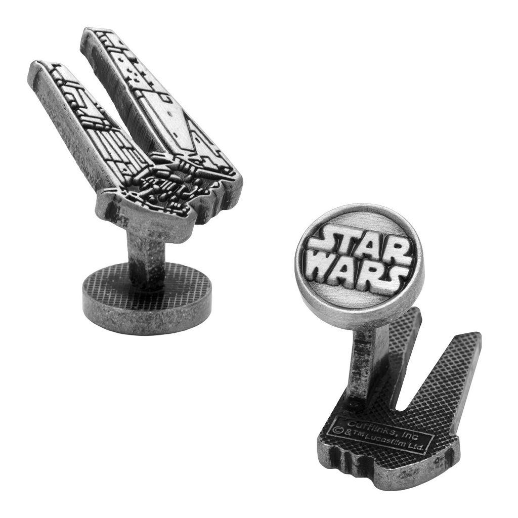 Star Wars: Episode VII The Force Awakens Kylo Ren Shuttle Etched Cuff Links