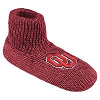 Men's Oklahoma Sooners Slipper Socks