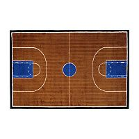 Fun Rugs Supreme Basketball Court Rug