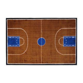 Fun Rugs Supreme Basketball Court Rug