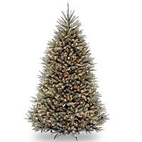 7.5-ft. Pre-Lit Dunhill Blue Fir Artificial Christmas Tree