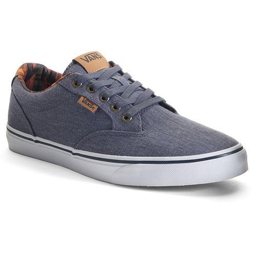 c6237dda49f Vans Winston Washed Men s Skate Shoes