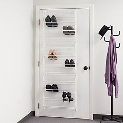 Sunbeam 36 Pair Over The Door Shoe Rack